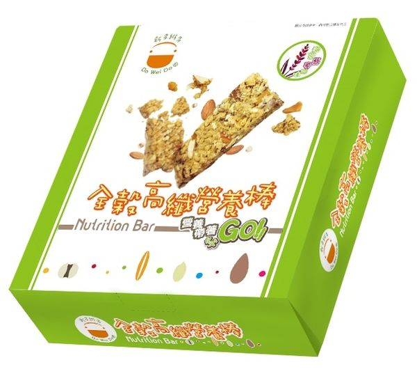 新多維多全穀高纖營養棒(海苔蔾麥)-盒裝 (12入 / 盒)【杏一】