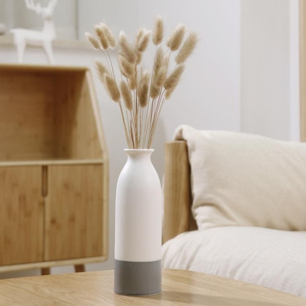 花瓶陶瓷水培北歐家居飾品擺件插鮮花幹花擺設