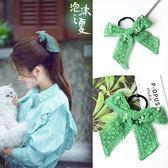 【TT】蕾絲髪帶韓版甜美髪圈張雪迎飄帶頭花女飾品