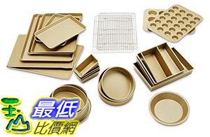 [美國直購] Williams-Sonoma Goldtouch Baker s Dream 25-Piece Bakeware Set 烘培用具