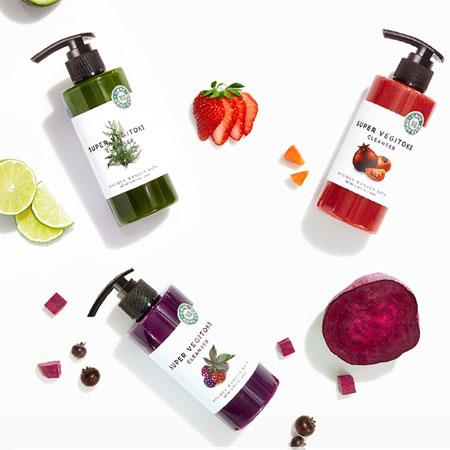 韓國 Wonder bath WB 蔬果綠茶洗面乳 300ml 潔面乳 洗顏乳 洗面乳 洗臉 清潔 洗卸合一