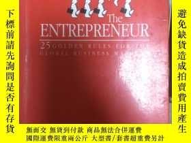 二手書博民逛書店罕見~ The Entrepreneur: Twenty-fiv