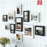 黑白混搭 黑白風景(常規款)簡約現代照片牆裝飾創意個性相框牆客廳餐廳掛牆組合  JN
