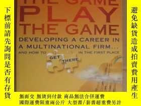 二手書博民逛書店Know罕見the game play the game:dev