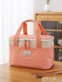保溫袋鋁箔加厚大號 手提防水保鮮保冷便當包飯盒袋裝飯盒手提袋『潮流世家』