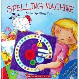 【超級搶手貨】 SPELLING MACHINE: MAKE SPELLING FUN! (學習英文轉轉書)