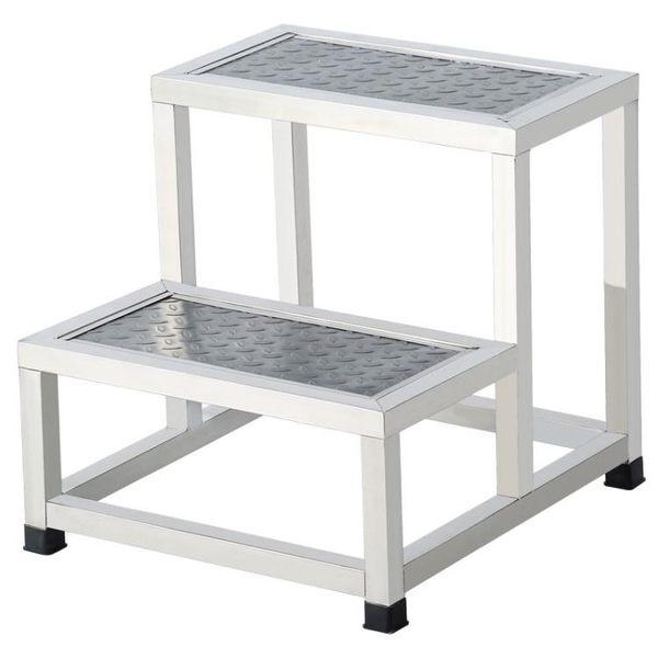 梯子不銹鋼腳踏凳家用室內小樓梯台階踏步梯子兩二三四步梯台階凳梯凳【快速出貨】JY