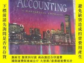 二手書博民逛書店成本會計罕見Cost Accounting (英文原版) LJY3442 Horngren Foster Da