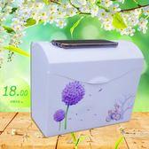 浴廁面紙盒 方形塑料草紙盒廁所衛生間紙巾盒手紙廁紙盒加厚防水免打孔【快速出貨】