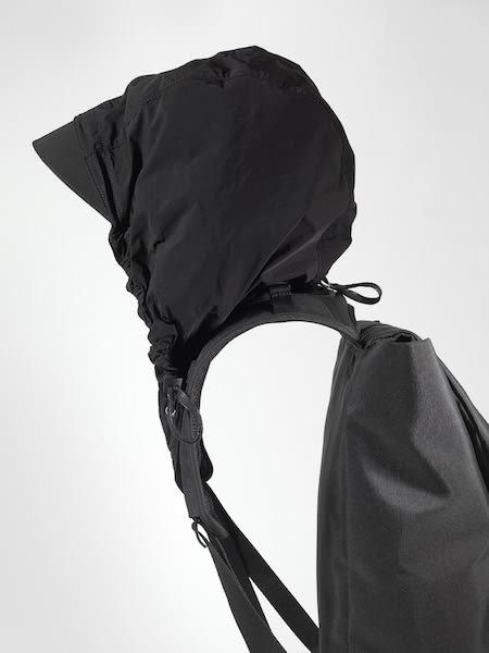 【cote&ciel】TIGRIS ECO YARN Black No.28472 Tigris黑色尼龍後背包