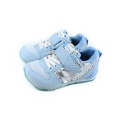 MoonStar 運動鞋 魔鬼氈 藍/白 花卉 童鞋 MSC2121S69 no416