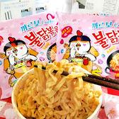 韓國 莫札瑞拉起司辣雞麵130gx5包(整袋裝)【小三美日】泡麵/進口/團購