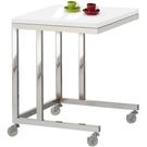 【藝匠】白色移動便利桌,移動邊桌,電腦桌,小邊桌,小茶几(三色可選)