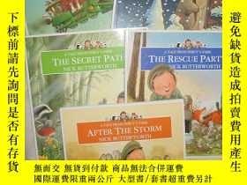二手書博民逛書店A罕見Tale from Percy s Park(5本)The
