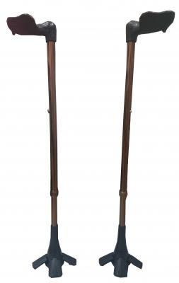 台灣喜多 醫療用手杖 (未滅菌) FZK-2205人體工學拐