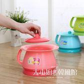 加厚兒童痰盂坐便器男 女寶寶座便器塑料帶把手嬰幼兒尿桶尿盆-大小姐韓風館
