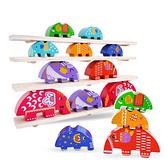 大象木製疊疊平衡木 寶寶玩具 桌上遊戲 木製玩具