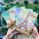 16K筆記本 巴黎鐵塔 歐洲建築 夢之都 學生 禮品贈品-艾發現