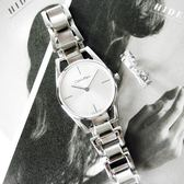 CK / K7L23146 / Dainty 瑞士機芯 鏤空設計 不鏽鋼手錶 銀色 30mm