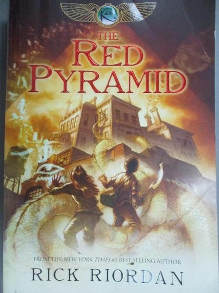 【書寶二手書T8/原文小說_LGU】The Red Pyramid_Riordan, Rick