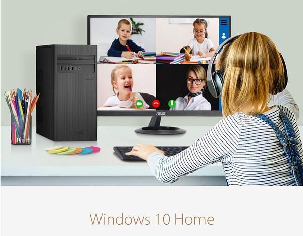【ASUS 華碩】H-S300TA 雙核SSD桌上型電腦 (G5905/4G/256GSSD)