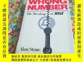 二手書博民逛書店WRONG罕見NUMBER The Breakup of AYg