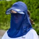 帽子遮陽帽女防曬大沿帽防紫外線遮臉護頸防...