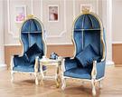 巴洛克歐式新古典公主椅蛋型椅鳥籠椅凳050877通販屋