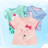 2020夏裝新款兒童短袖T恤 女童寶寶半袖T恤 棉質嬰兒短袖上衣童裝