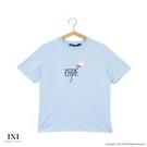 【INI】刺繡甜美、精緻舒適休閒上衣.水...