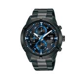 ALBA雅柏  IG廣告款 全黑帥氣計時手錶  VD57-X174SD(AM3751X1) 黑