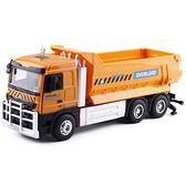 大號合金工程車翻斗自卸車運輸車重型卡車開門聲光慣性模型玩具車-享家