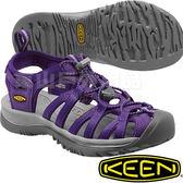 KEEN 1012232紫/灰 Whisper 女戶外專業護趾涼鞋 水陸兩用溯溪鞋/運動健走鞋/沙灘戲水拖鞋