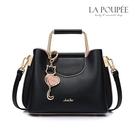 手提包 精緻輕甜美貓咪掛飾側背方包 2色-La Poupee樂芙比質感包飾 (現貨+預購)