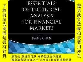 二手書博民逛書店Essentials罕見Of Technical Analysis For Financial Markets