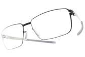 Ic! Berlin光學眼鏡 DR. KAUERMANN MARINT BLUE (霧藍-銀) 薄鋼眼鏡 # 金橘眼鏡