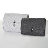 [哈GAME族]滿399免運費●手把收納小幫手●PS4 控制器專用 羊毛氈保護包 便攜包 收納包 淺灰/深灰
