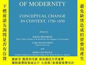 二手書博民逛書店The罕見Rise Of The Social Sciences And The Formation Of Mod