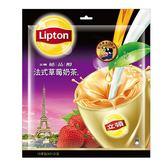 立頓絕品醇法式草莓奶茶21g*15【愛買】