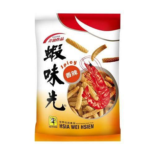 裕榮蝦味先-香辣超派包115g【愛買】