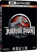 【停看聽音響唱片】【BD】侏羅紀公園 平裝膠盒『4K』