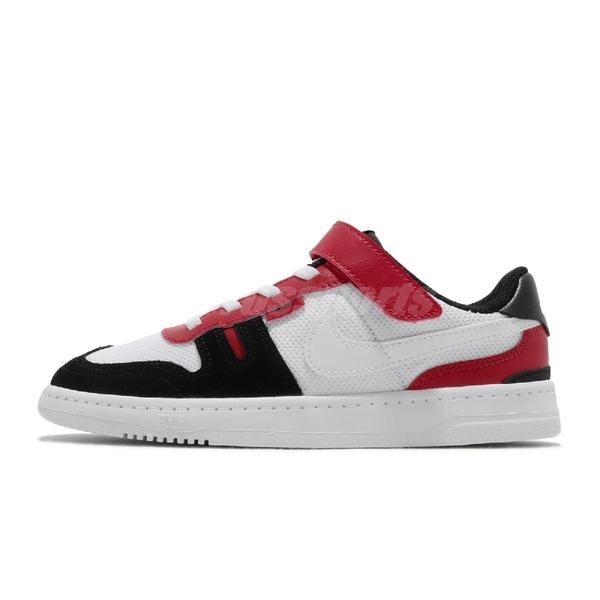 Nike 休閒鞋 Squash-Type PS 白 紅 童鞋 中童鞋 運動鞋 【ACS】 CJ4120-101