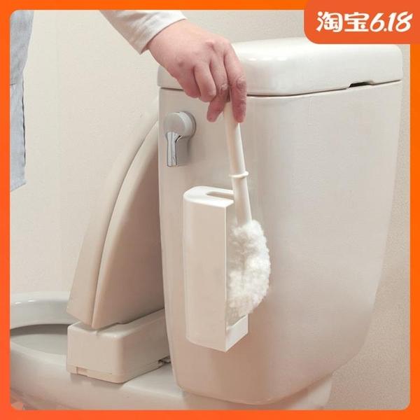 尺寸超過45公分請下宅配日本進口SANKO小號軟毛馬桶刷衛生間清潔刷無死角洗廁所刷子套裝