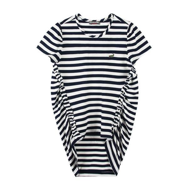 『小鱷魚童裝』條紋長版T恤(08號~14號)533155
