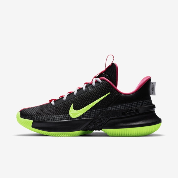 Nike Lebron Ambassador Xiii [CQ9329-001] 男鞋 籃球 運動 休閒 穿搭 黑 螢黃
