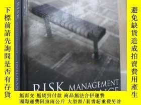 二手書博民逛書店Risk罕見Management and Insurance P