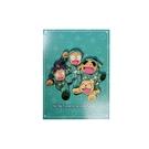 藍色款【日本正版】忍者亂太郎 日本製 四方 便條本 80張 便條紙 - 545900