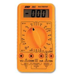 經濟型數位三用電錶CHY-36C