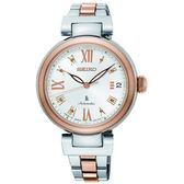 SEIKO LUKIA 林依晨新廣告款機械時尚腕錶 4R35-02X0KS.(SRP850J1)半玫瑰金