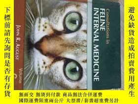 二手書博民逛書店Consultations罕見in Feline Internal Medicine, Volume 6 貓內科